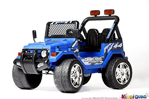 4×4 électrique enfant pas cher Jeep deux places
