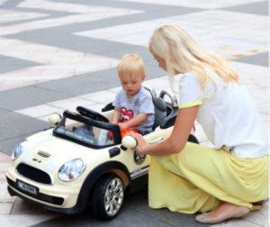 voiture enfant avec télécommande parentale