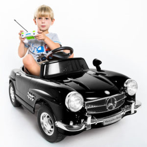 voiture mercedes enfant avec télécommande parentale